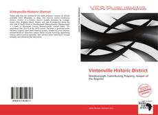 Buchcover von Vintonville Historic District