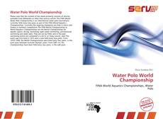 Buchcover von Water Polo World Championship