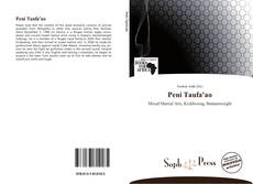Copertina di Peni Taufa'ao