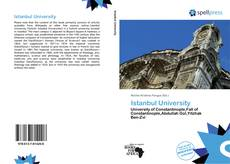 Istanbul University kitap kapağı
