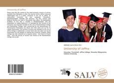 Bookcover of University of Jaffna