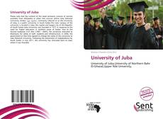 Bookcover of University of Juba