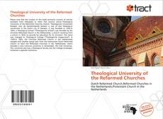 Capa do livro de Theological University of the Reformed Churches
