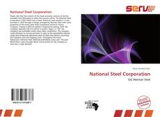 Bookcover of National Steel Corporation