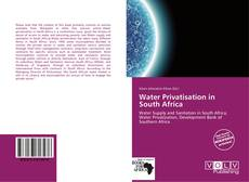 Couverture de Water Privatisation in South Africa