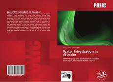 Bookcover of Water Privatization in Ecuador