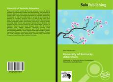 Bookcover of University of Kentucky Arboretum