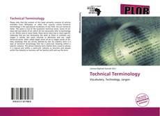 Capa do livro de Technical Terminology