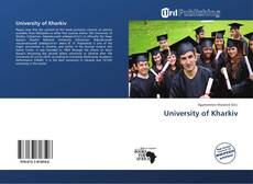 Portada del libro de University of Kharkiv