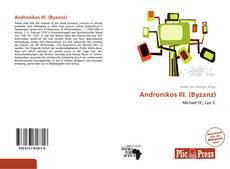 Portada del libro de Andronikos III. (Byzanz)