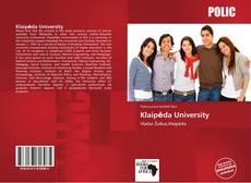 Capa do livro de Klaipėda University
