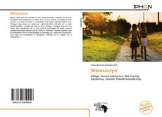 Wereszczyn kitap kapağı