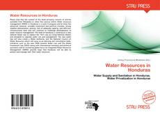 Bookcover of Water Resources in Honduras