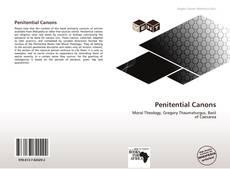 Penitential Canons kitap kapağı