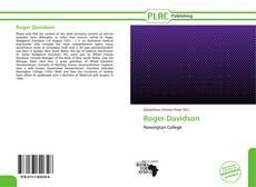 Buchcover von Roger Davidson