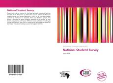 Bookcover of National Student Survey