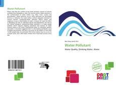 Bookcover of Water Pollutant