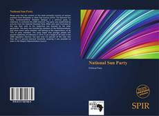 Bookcover of National Sun Party