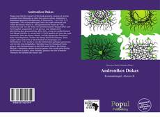 Capa do livro de Andronikos Dukas