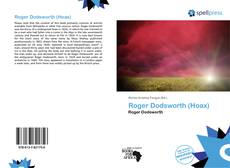 Couverture de Roger Dodsworth (Hoax)