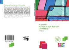 Capa do livro de National Sun Yat-sen University