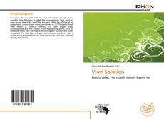 Bookcover of Vinyl Solution