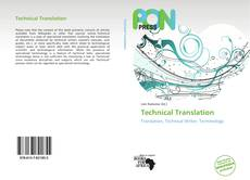 Couverture de Technical Translation