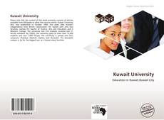 Bookcover of Kuwait University