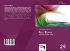 Bookcover of Roger Dopson