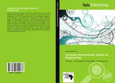 Portada del libro de Technion International School of Engineering