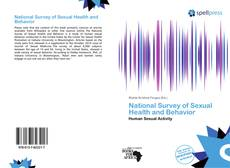 Couverture de National Survey of Sexual Health and Behavior
