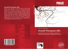 Copertina di Oswald Thompson Allis