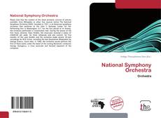 Bookcover of National Symphony Orchestra