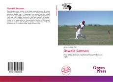 Bookcover of Oswald Samson