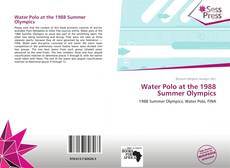Capa do livro de Water Polo at the 1988 Summer Olympics