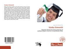 Bookcover of Vasko Simoniti