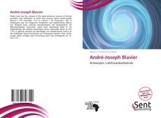 Copertina di André-Joseph Blavier