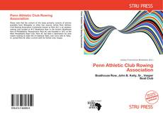 Capa do livro de Penn Athletic Club Rowing Association