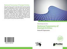 National Taxonomy of Exempt Entities kitap kapağı