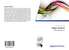 Bookcover of Roger Dubuis