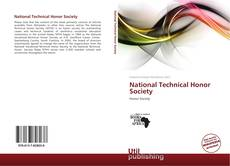 Bookcover of National Technical Honor Society