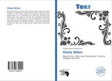 Bookcover of Viola Allen