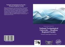 Bookcover of National Technological University – Mendoza Regional Faculty