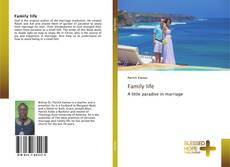 Bookcover of Family life