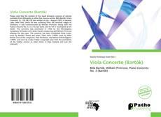 Capa do livro de Viola Concerto (Bartók)
