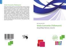 Capa do livro de Viola Concerto (Telemann)