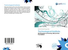 Bookcover of Technological Institute