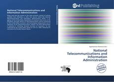 Bookcover of National Telecommunications and Information Administration