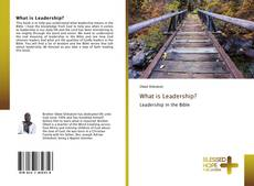 Bookcover of What is Leadership?
