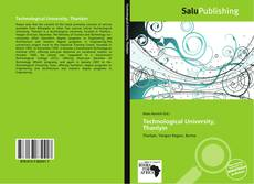 Bookcover of Technological University, Thanlyin